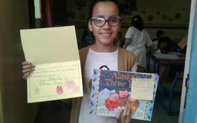 Books arrive in Agadir, Morocco