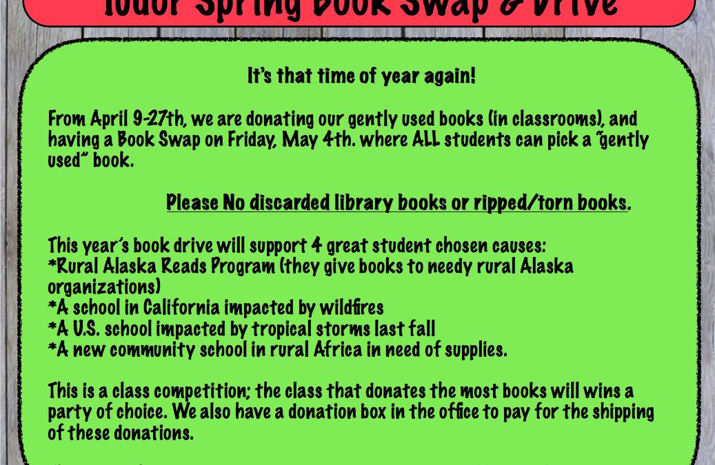 Spring at Tudor Elementary!
